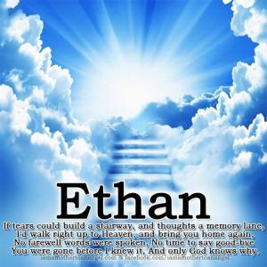Ethan stairway