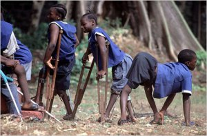 Courtesy of the World Health Organization. Polio in Sierra Leone.