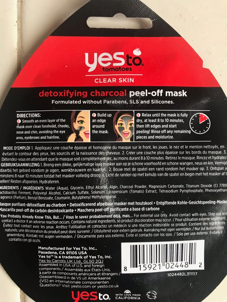 Cheap Charcoal Mask That Produces Big Results – Raising Our Blussian